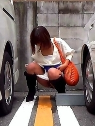 Japanese Piss Fetish Videos - Asian Girls Pissing - Piddle Here, Puddle There 8