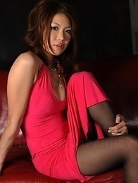 Runa Sesaki exposes her firm boobs