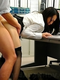 Ai Mizushima gets her pussy creamed
