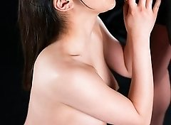 Yui Kawagoe Cum Covered Group Handjob
