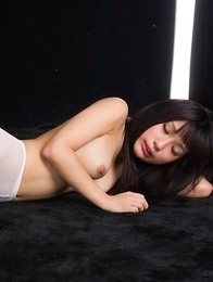 Luna Kobayashi lets this dude rip her pantyhose and fuck her delicious feet
