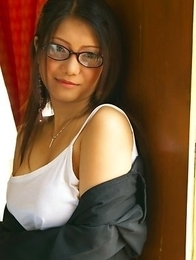 Kate Bong is a sexy accountant that is ready to provide a little more to her job requirements.