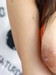 Big tits Asian Patt Pandava spreading anus and asshole