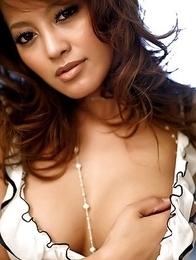 Big tits asian sex star Asian Karen