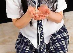 Yui Kawagoe Cummy Blowjob