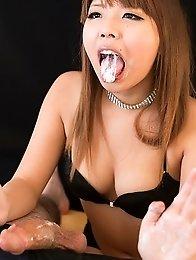 Kanon Yumesaki Strokes with Cum