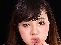 Erena Yamamoto Gives Sloppy Cum Covered Blowjob