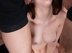 Aya Kisaki Sticky Bukkake Facial
