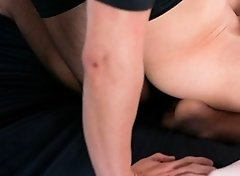 Tera Link pussy filled with lots of cum