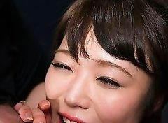 Yui Kawagoe Gives Sloppy Cum Covered Blowjob